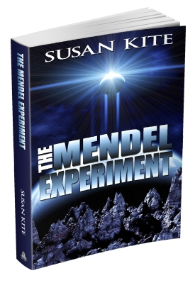 MENDEL EXPERIMENT 3D BOOK COVER