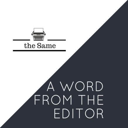 a word from the editor (1)